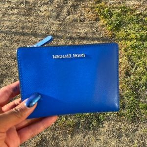Michael Kors Blue and White Card Holder ,NWT